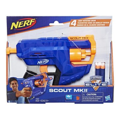Lanzador Nerf Elite Scout Mkii